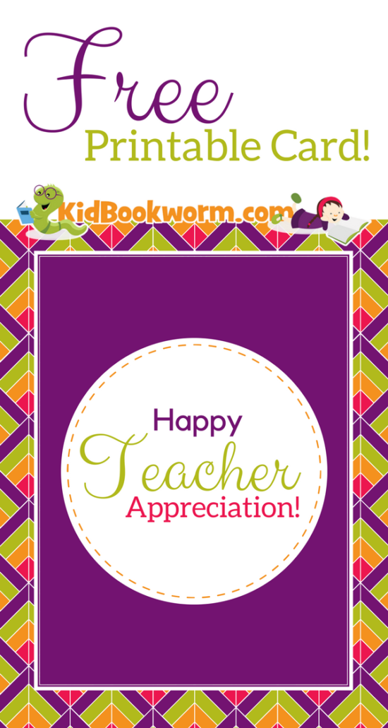 photograph relating to Teacher Appreciation Cards Free Printable titled We appreciate instructors! No cost Printable Trainer Appreciation Card